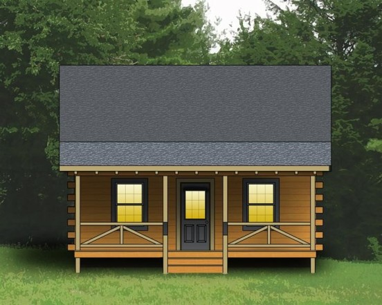 Small cabin plan