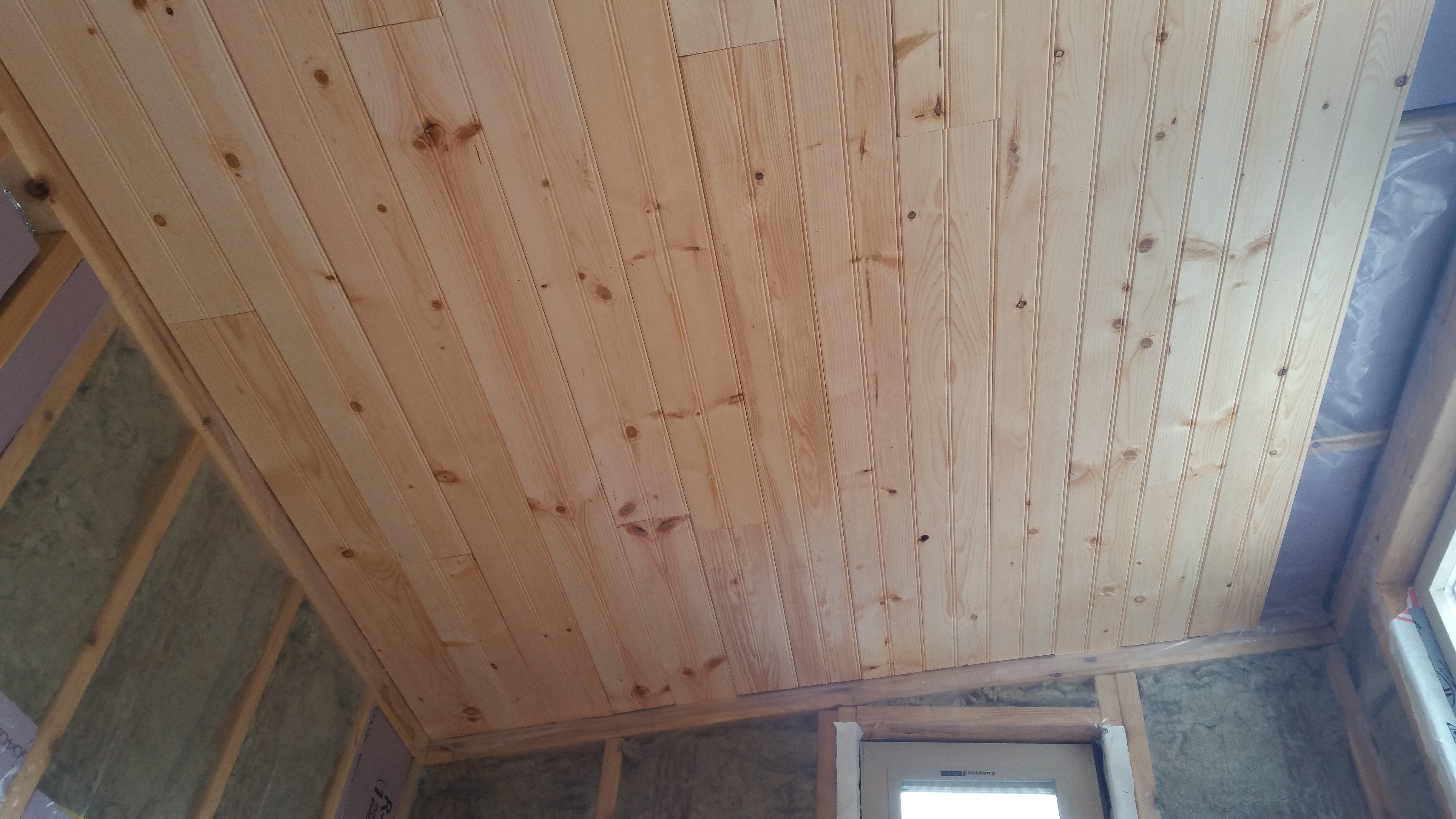 Pine Tongue and Groove Boards for Ceiling and Walls Journey To